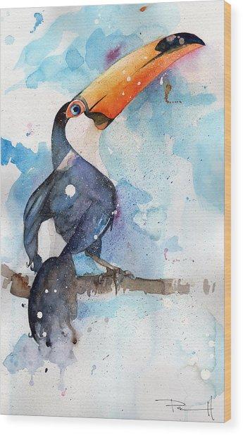 Toucan Sam Wood Print