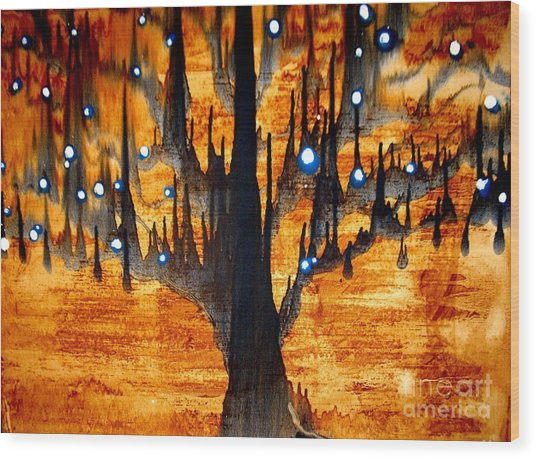 Touched Wood Print