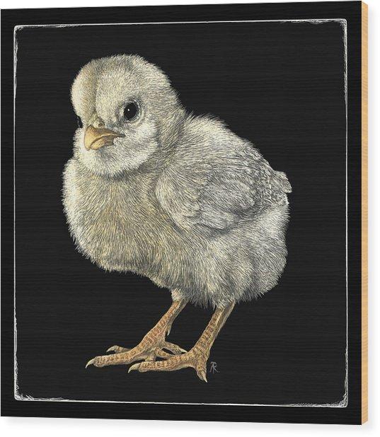 Tough Chick Wood Print