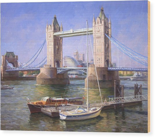 Tower Bridge.london Wood Print