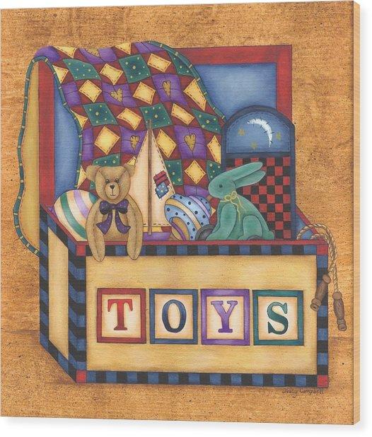Toy Box Wood Print