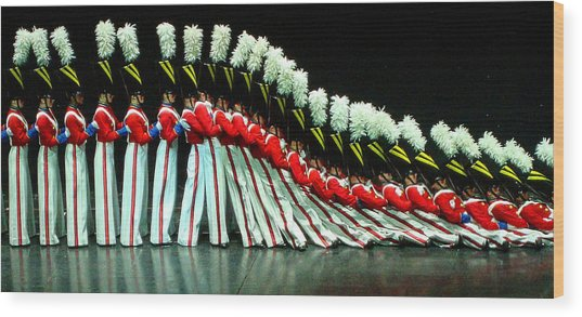 Toy Soldiers Wood Print