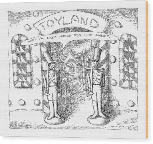 Toyland Wood Print