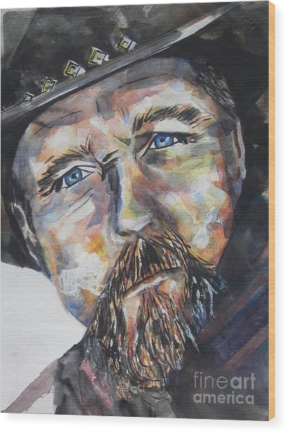 Trace Adkins..country Singer Wood Print