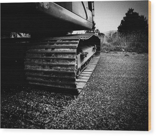 Track Wood Print