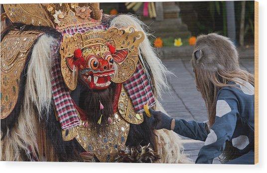 Traditional Dance - Bali Wood Print