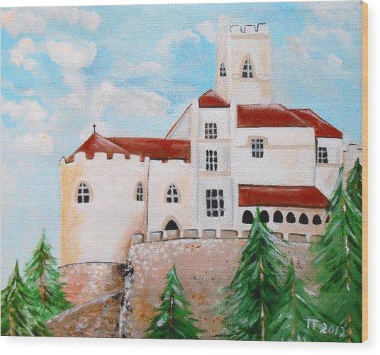 Trakoscan Wood Print by Tomislav Neely-Turkalj