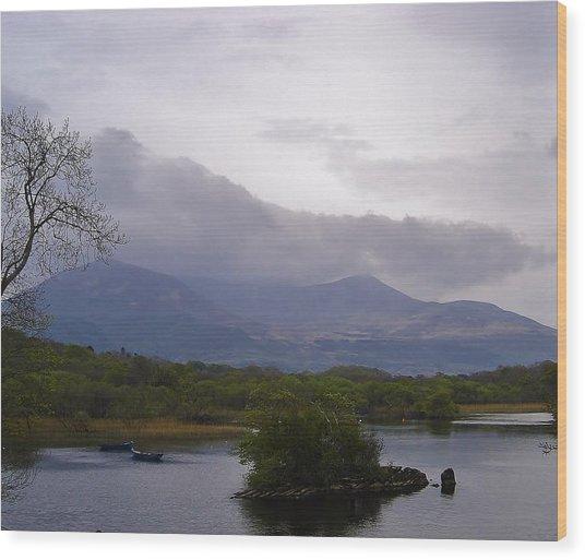 Tranquil Wood Print