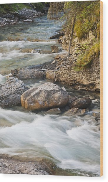 Tranquil Moment Wood Print