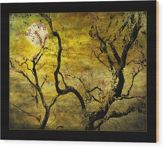 Tranquility Garden					 Wood Print