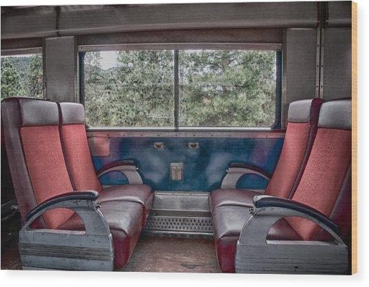 Trans Siberian Express Wood Print