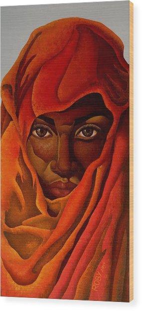 Transcendental Nubian Wood Print
