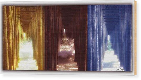 Transforming Waters  Orginal Piece Wood Print