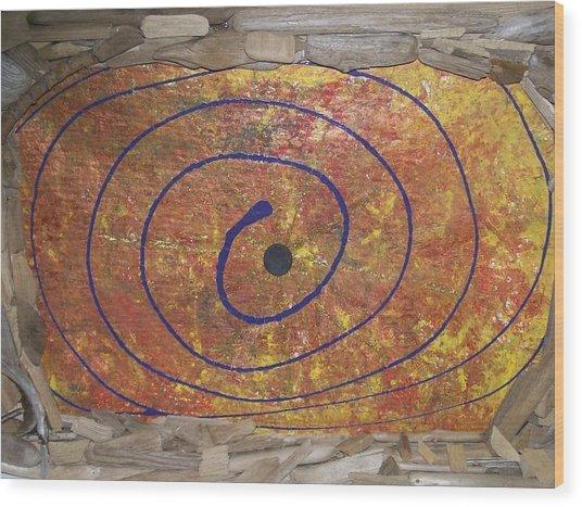 Transit Of Venus Wood Print