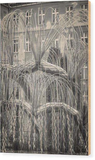 Tree Of Life Dohany Street Synagogue Wood Print