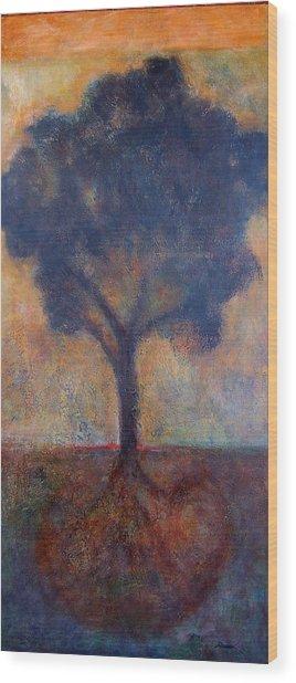Tree Of Life Wood Print by Jean Rodak