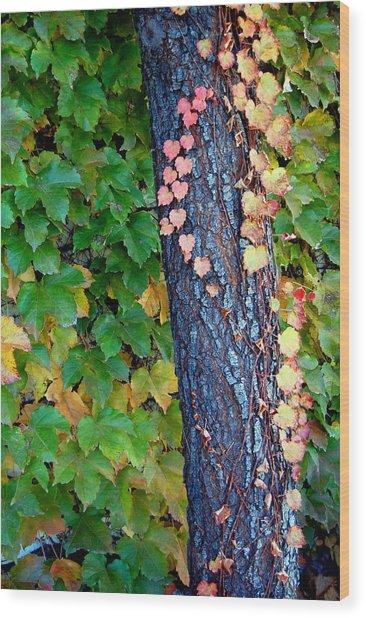Tree Of Love Wood Print