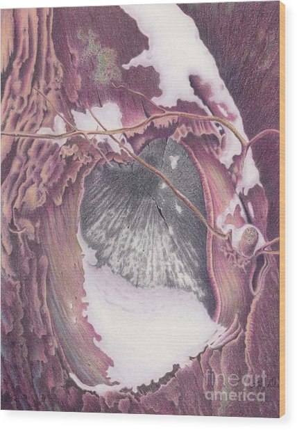 Treeheart Wood Print
