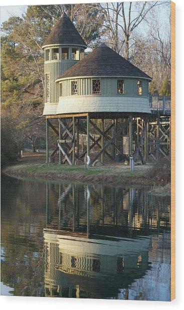 Treehouse Wood Print