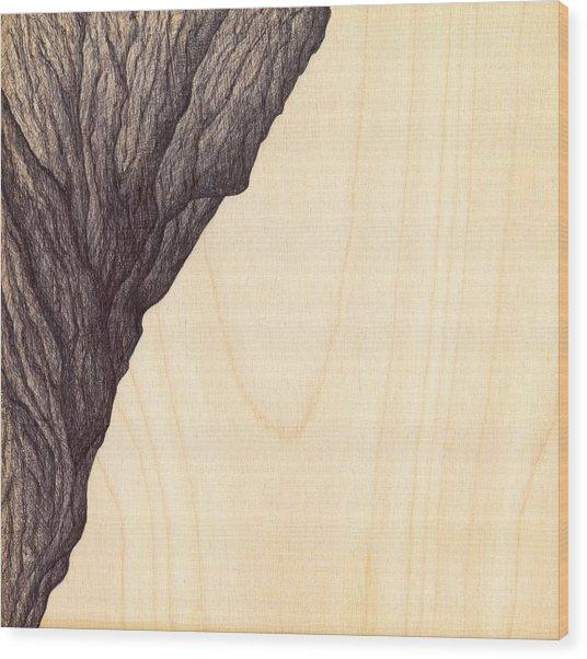 Treerock  Wood Print