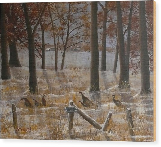 Trespassers Wood Print
