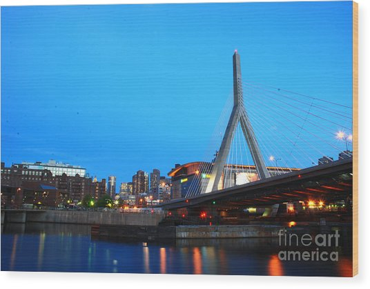 Tribute To Mr Zakim Wood Print