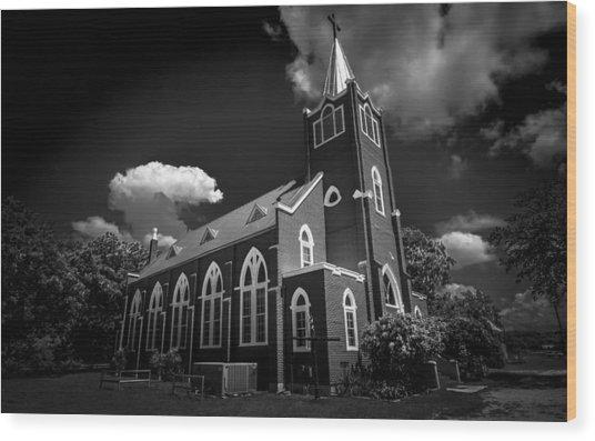 Trinity Lutheran Church Wood Print