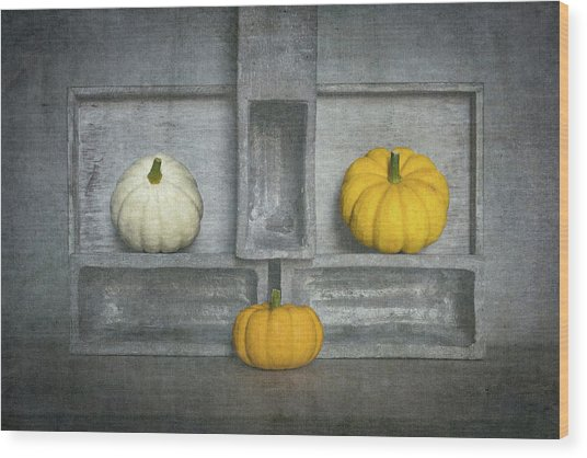 Trio's IIi Wood Print