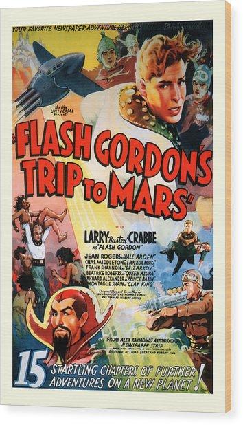 Trip To Mars 1938 Wood Print