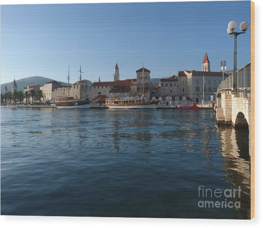 Trogir Old Town - Croatia Wood Print