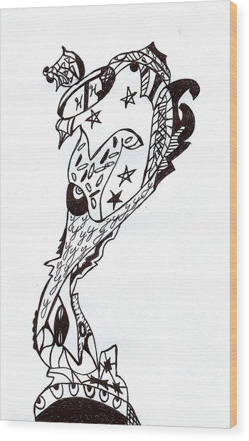 Trophy Wood Print