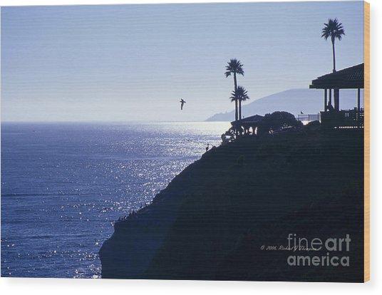 Tropical Silhouette Wood Print