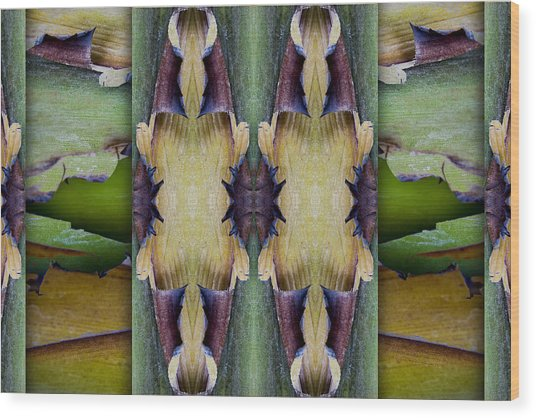Tropical Two Wood Print