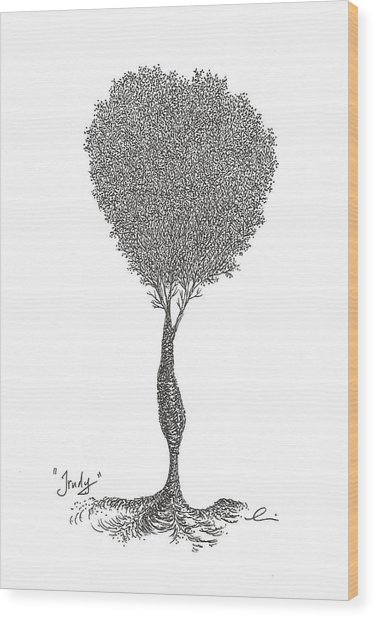 Trudy Wood Print