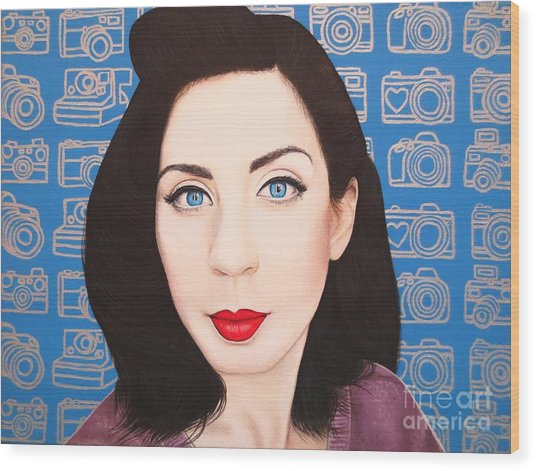 True Beauty - Lisa Boros Wood Print