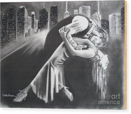 True Romance Wood Print