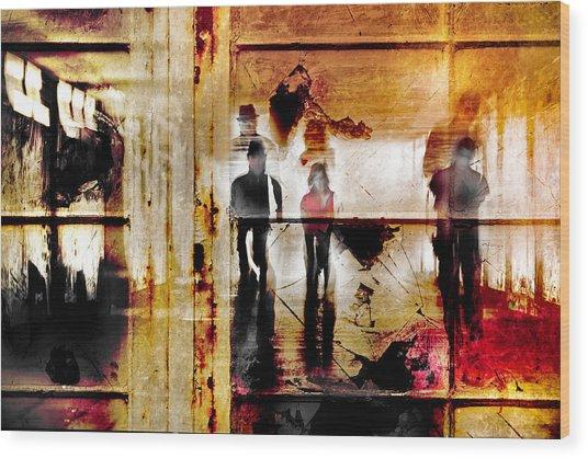 True The Window Wood Print by The Jar -