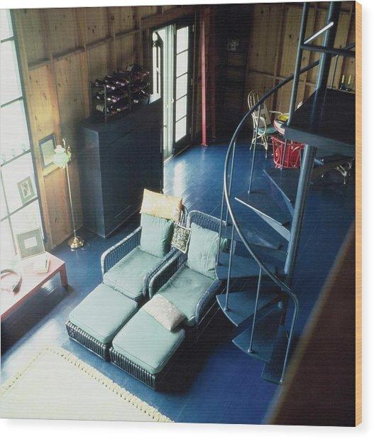 Truman Capote's Living Room Wood Print