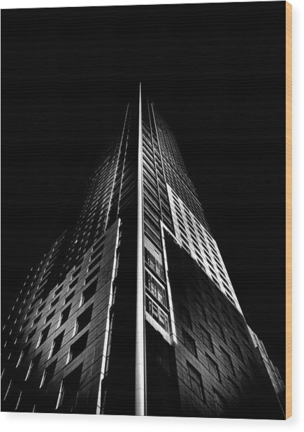 Trump Tower Toronto Canada Wood Print