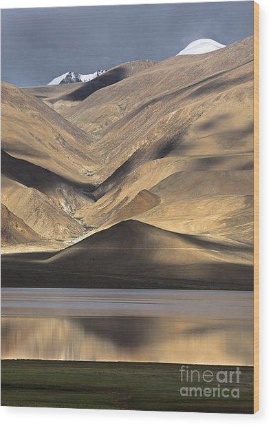 Golden Light Tso Moriri, Karzok, 2006 Wood Print