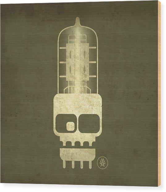 Tubeskull Wood Print