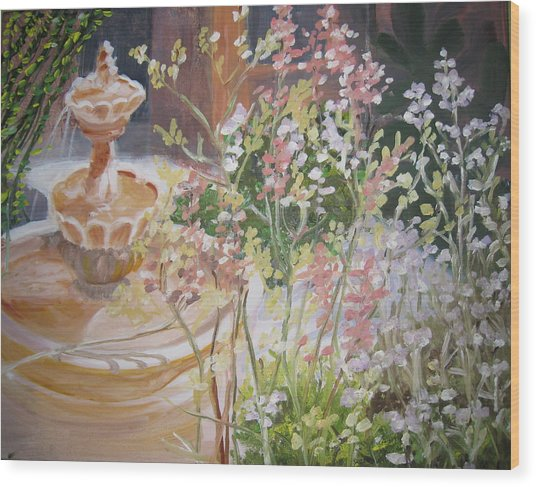 Tucson Spring Wood Print