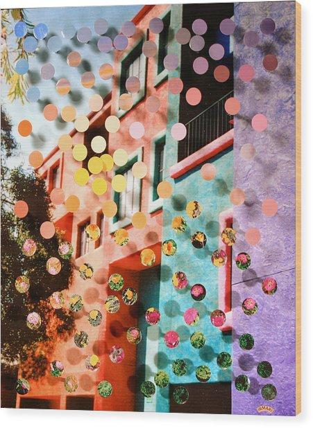 Tucsoncenter Ss1 Wood Print by Irmari Nacht