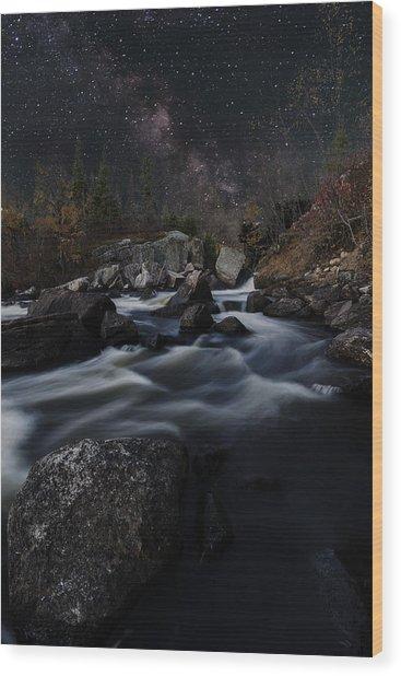 Tulabi Falls Wood Print