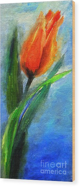 Tulip - Flower For You Wood Print
