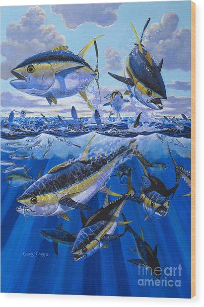 Tuna Rampage Off0018 Wood Print