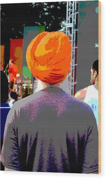 Turbante Wood Print