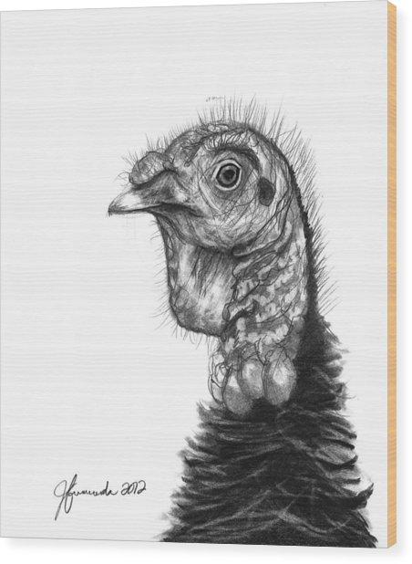 Turkey Bird Wood Print