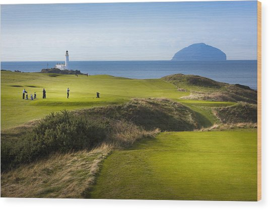 Turnberry Golf Course Prints Wood Print