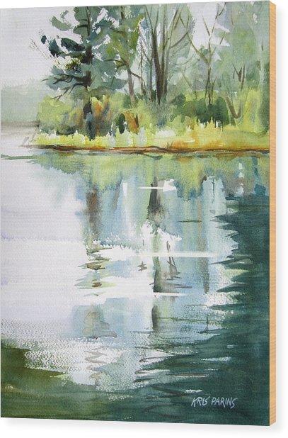 Turtle Bay Wood Print